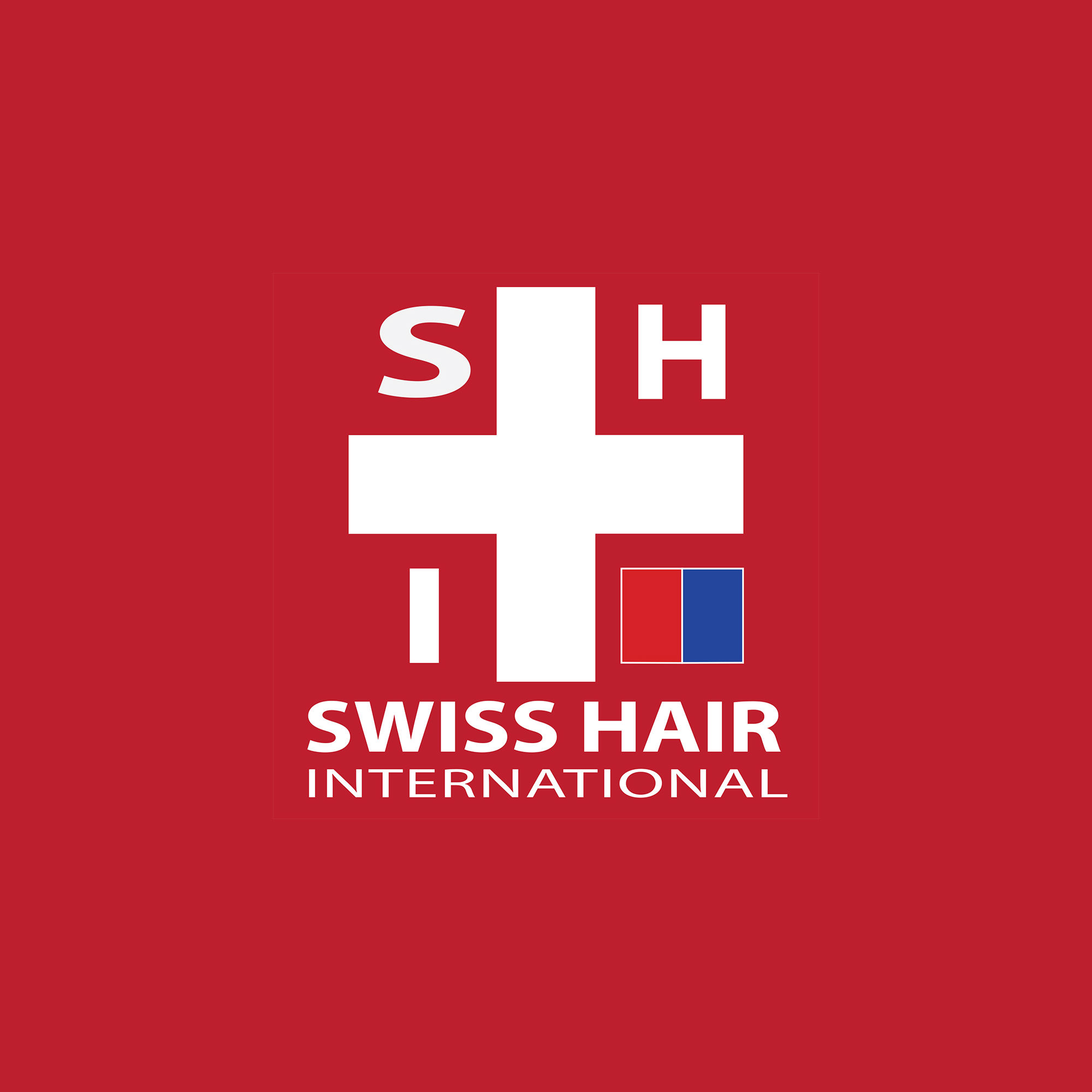 weBranding realizes the logo for Swiss Hair International