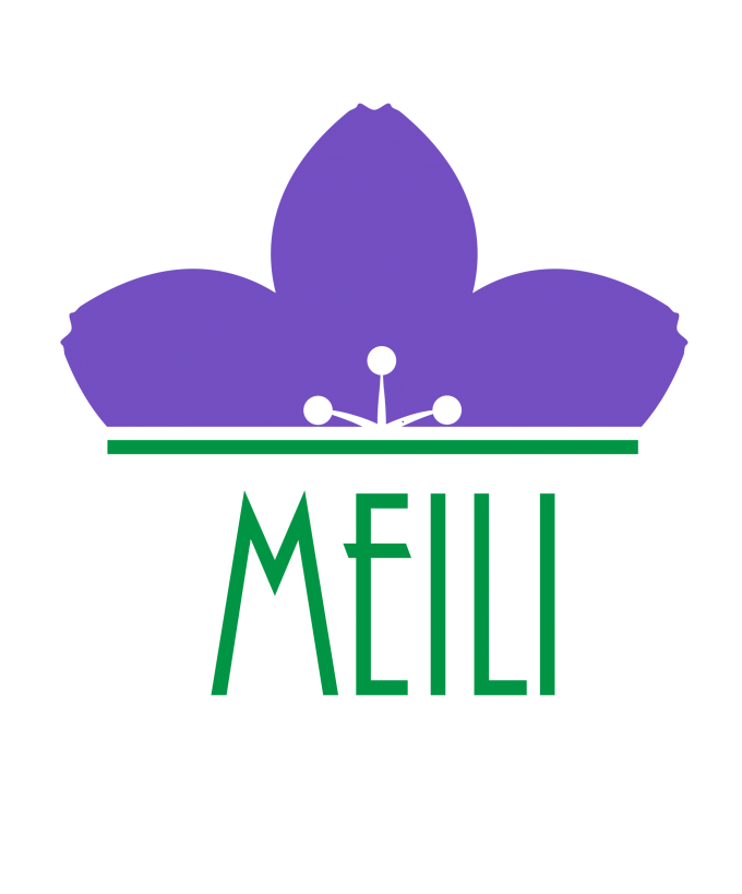 weBranding realizes the new logo for Meili Cosmetici